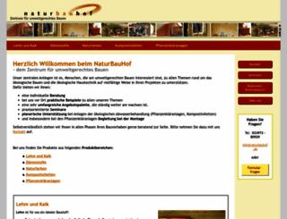 naturbauhof.de screenshot