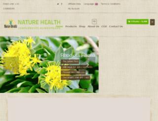 nature-health.fr screenshot
