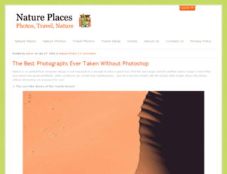 nature-places.com screenshot