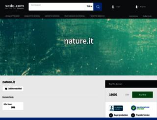 nature.it screenshot