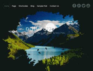nature776.themes4all.com screenshot