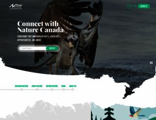 naturecanada.ca screenshot