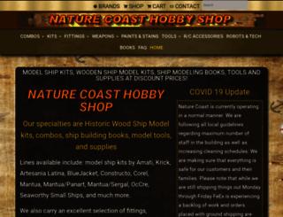 naturecoast.com screenshot