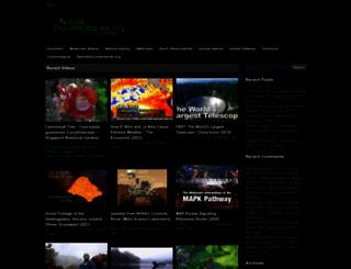 naturedocumentaries.org screenshot