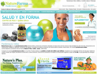 naturefarma.com screenshot
