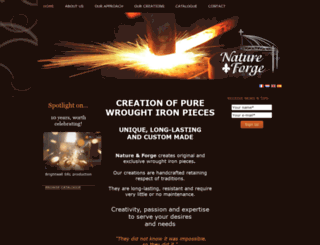 natureforge.com screenshot