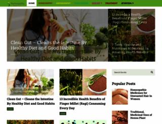 naturehomeopathy.com screenshot