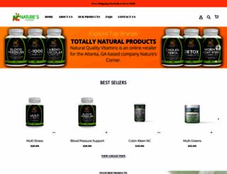 naturescornershop.com screenshot