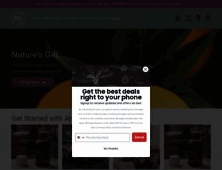 naturesgift.com screenshot