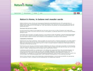 natureshome.nl screenshot