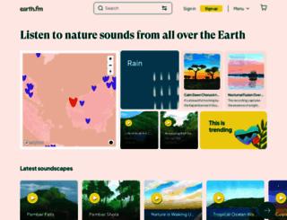 naturesoundmap.com screenshot