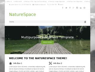 naturespace.tomastoman.com screenshot