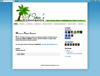 naturesscrapbook.blogspot.com screenshot