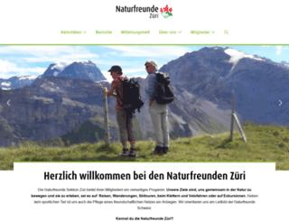 naturfreunde-zueri.ch screenshot