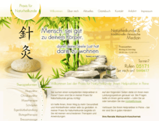 naturheilpraxis-peine.de screenshot