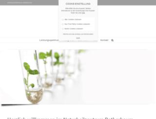 naturheilzentrum-rotherbaum.de screenshot