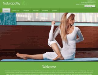 naturopathy.co.in screenshot