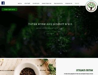 naturopathy.org.il screenshot