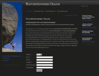 natursteinwerk-online.de screenshot