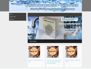 naturwasser24.businesscard.at screenshot