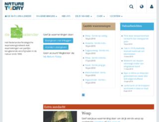 natuurkalender.nl screenshot