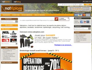 natxplore.com screenshot