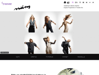 naty.uta.fi screenshot