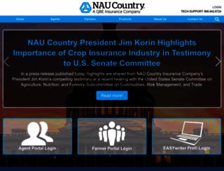 naucountry.com screenshot