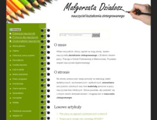 nauczyciel.nstrefa.pl screenshot