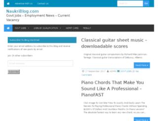 naukriblog.com screenshot
