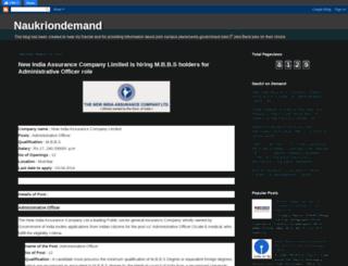naukriondemand.blogspot.com screenshot