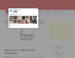 naukrivalley.com screenshot