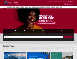 nautaliaviajes.es screenshot