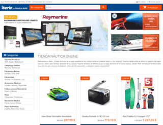 nauticaavinyo.com screenshot