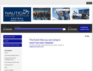nauticamalibutri2016.kintera.org screenshot