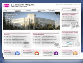 nauticaymaquinas.es screenshot