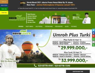 navahajiumroh.com screenshot