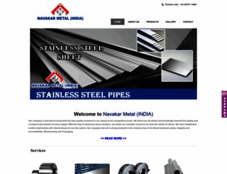 navakarmetal.com screenshot