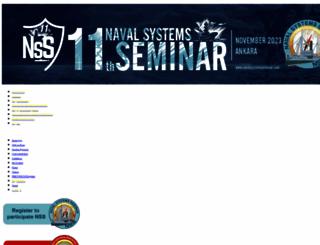 navalsystemsseminar.com screenshot