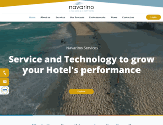 navarinoservices.com screenshot