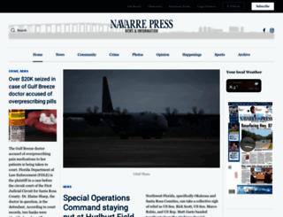 navarrepress.com screenshot