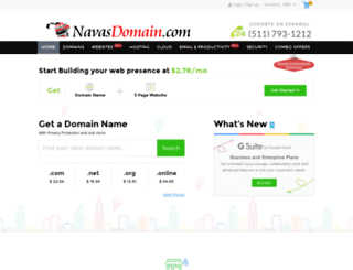 navasdomain.com screenshot
