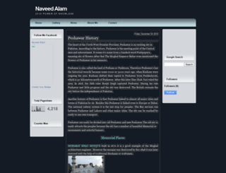 naveed-alam.blogspot.com screenshot