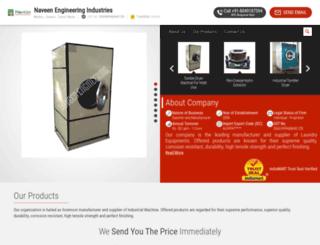 naveenengineeringindustries.net screenshot