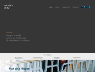 naveenjain.com screenshot