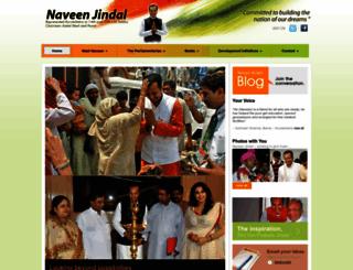 naveenjindal.com screenshot