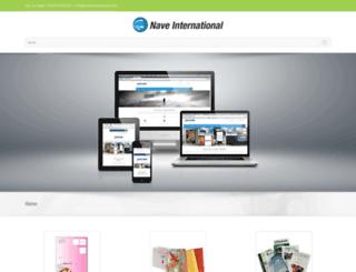 naveinternational.com screenshot