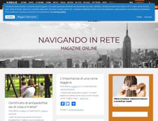 navigandoinrete.myblog.it screenshot