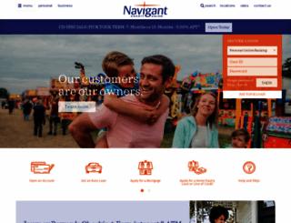 navigantcu.org screenshot