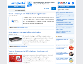 navigaweb.net screenshot